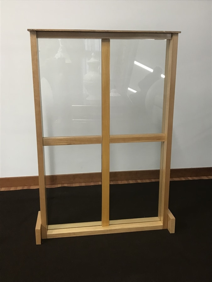 Partition wall, Unbreakable glass partition wall
