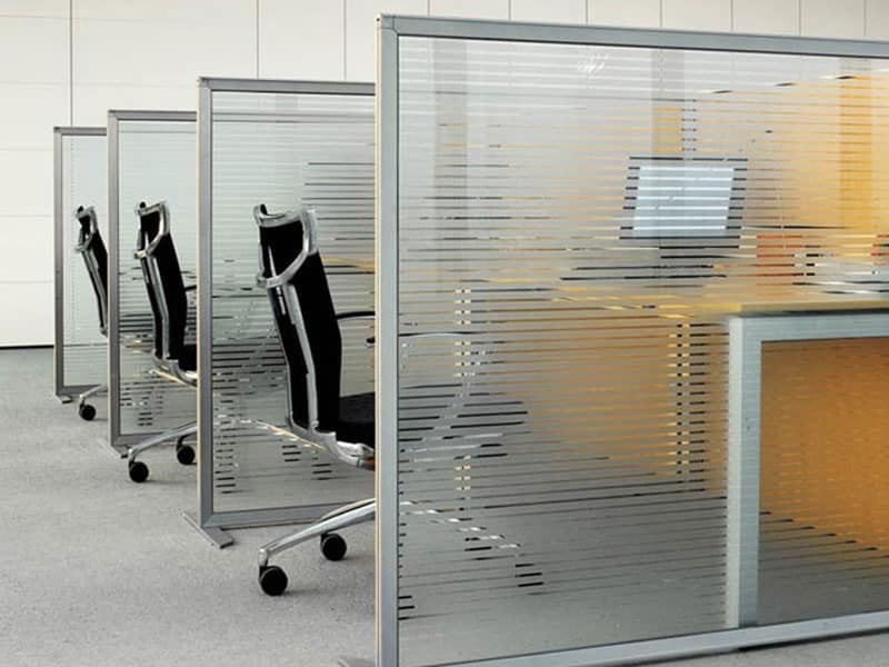 Slim, Office Partitions, Sound Absorbing