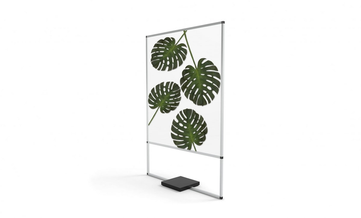 Urban Green, Dividing panels with decorative leaves