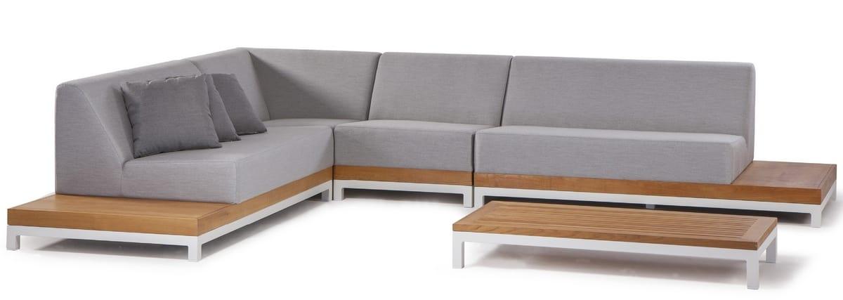 CALIFORNIA SET, Garden set with modular sofa