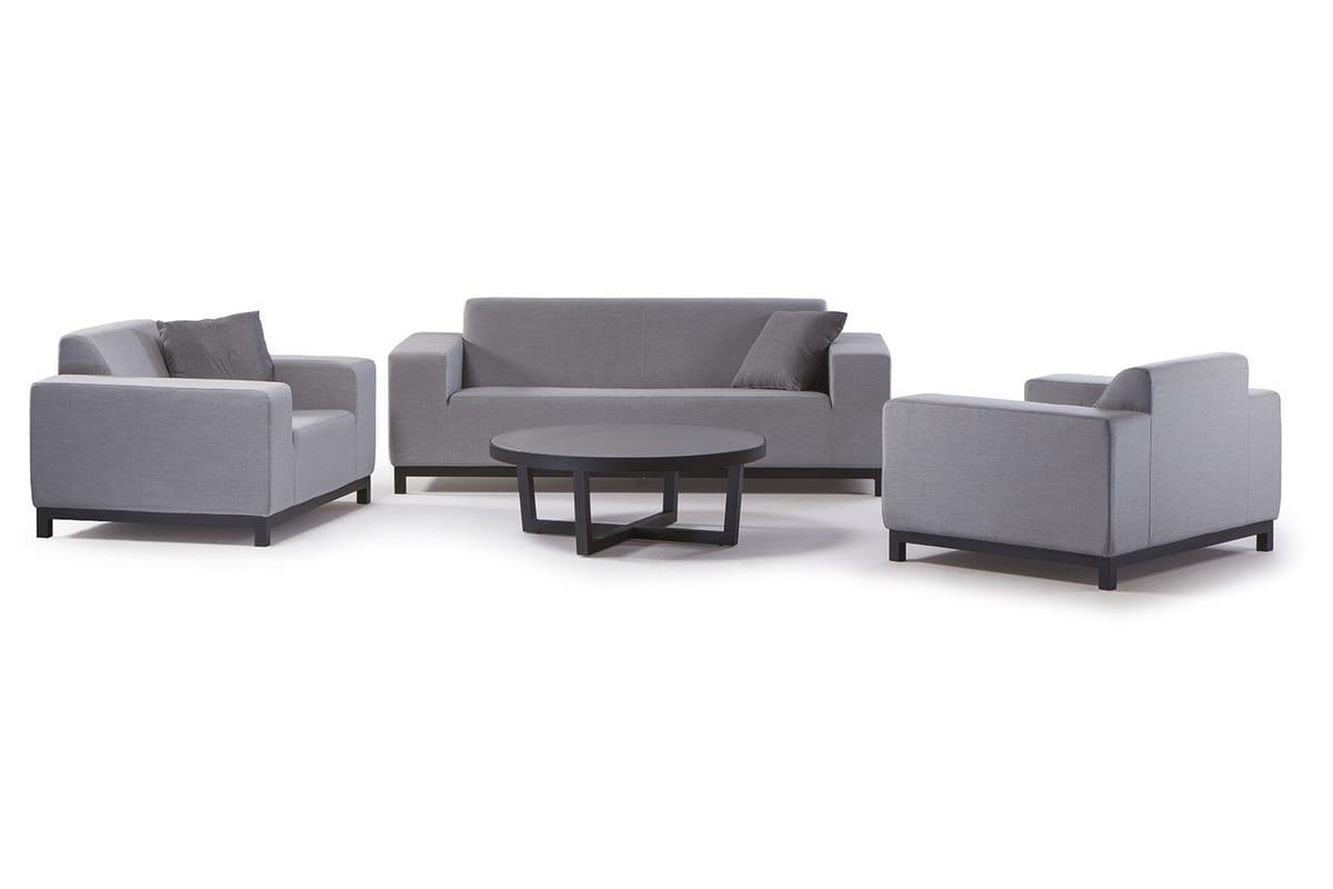 CASABLANCA SET, Garden set with sofas and table