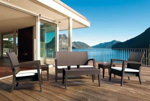 Creta Set, Outdoor furniture, ideal for beach bar
