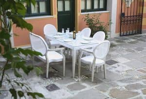 Dexter set, Coordinated furniture for outdoor side and Cocktail Bars