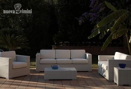 Habana set, Garden furniture set in synthetic rattan