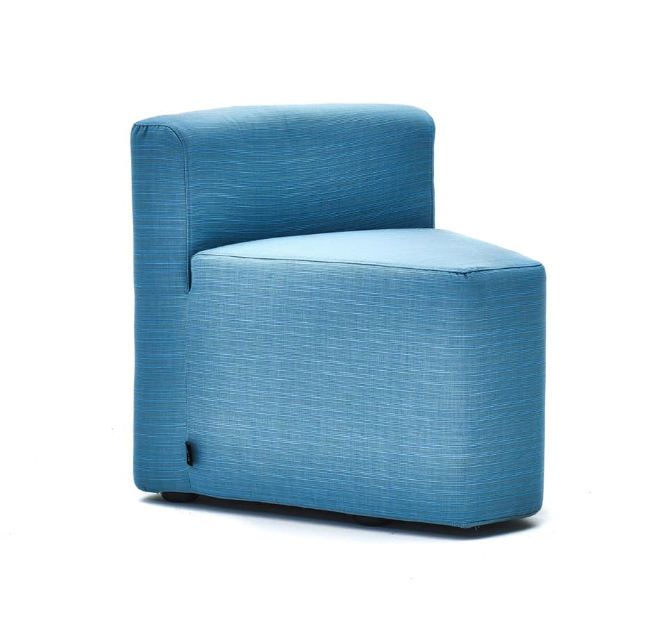 In&out armchair, Outdoor set, padded and removable cover