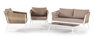 Merida, Garden set with armchairs and sofa