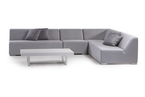 MIKONOS SET, Garden set with modular sofa in foam