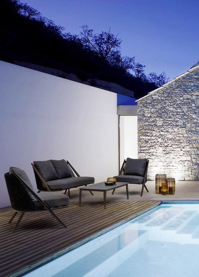 Santa Cruz lounge, Patio lounge set