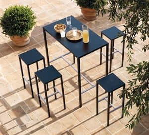 Seaside kit, Outdoor sets consisting of stools and high table