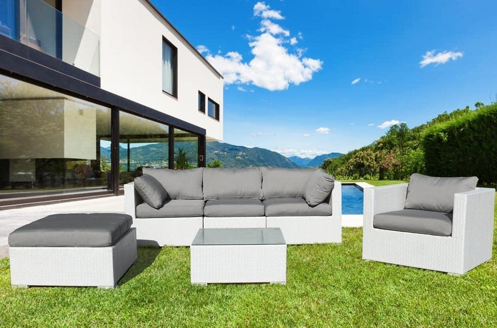 Bar woven rattan garden forniture set Santa Monica – SM935RAT, Outdoor furniture set, sofa and armchairs for gardens