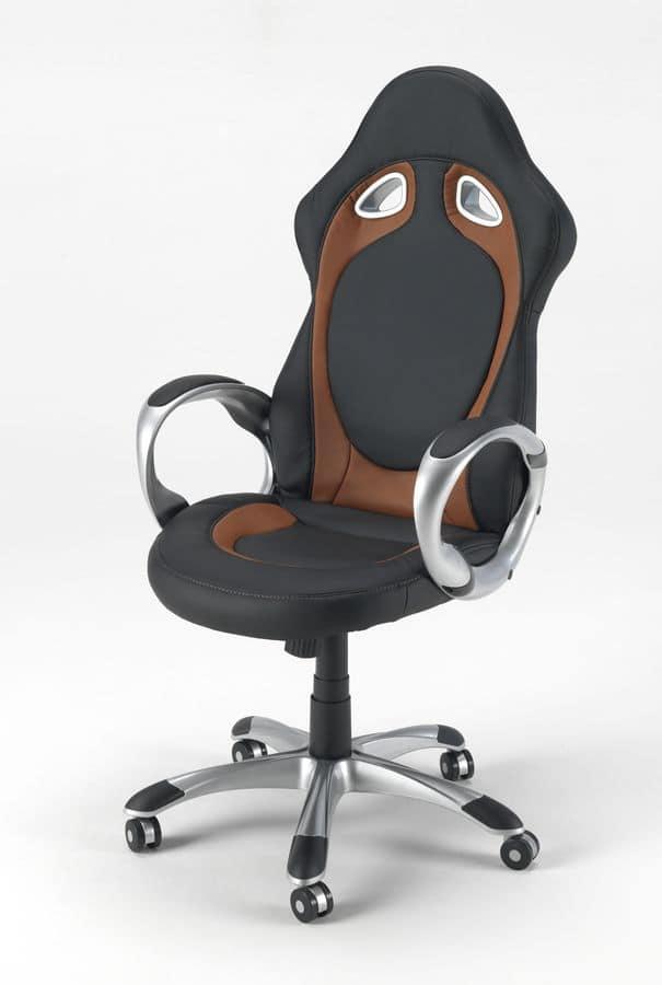Armchair office chair racing Race – SU130RAC, Office armchair racing sport style