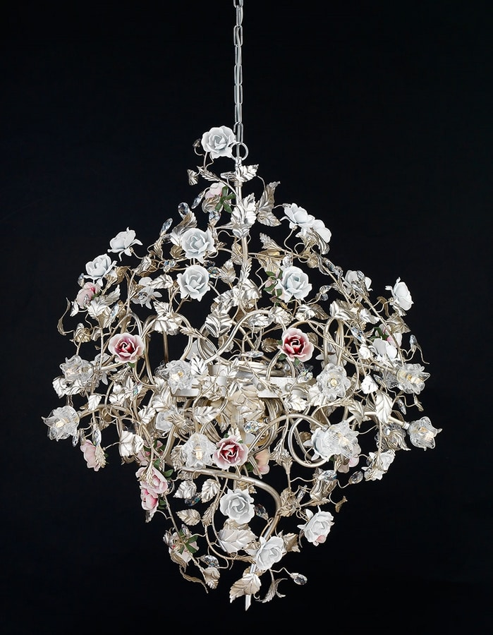 212116+LED, Refined chandelier