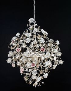 212116+LED, Refined chandelier