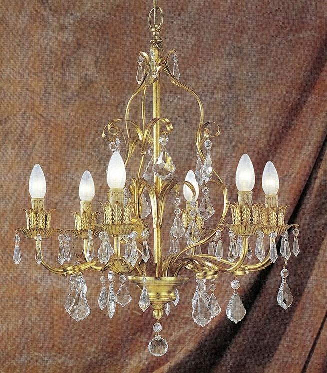 90416, Traditional design chandelier