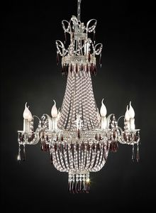 97518, Gorgeous glass chandelier