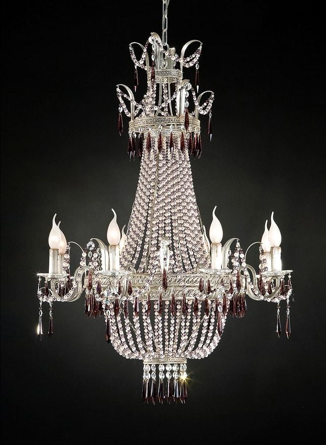 97518, Gorgeous glass chandelier