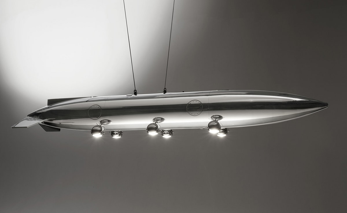 AIR-ALP0170, Lamp made with Alpha Jet tank
