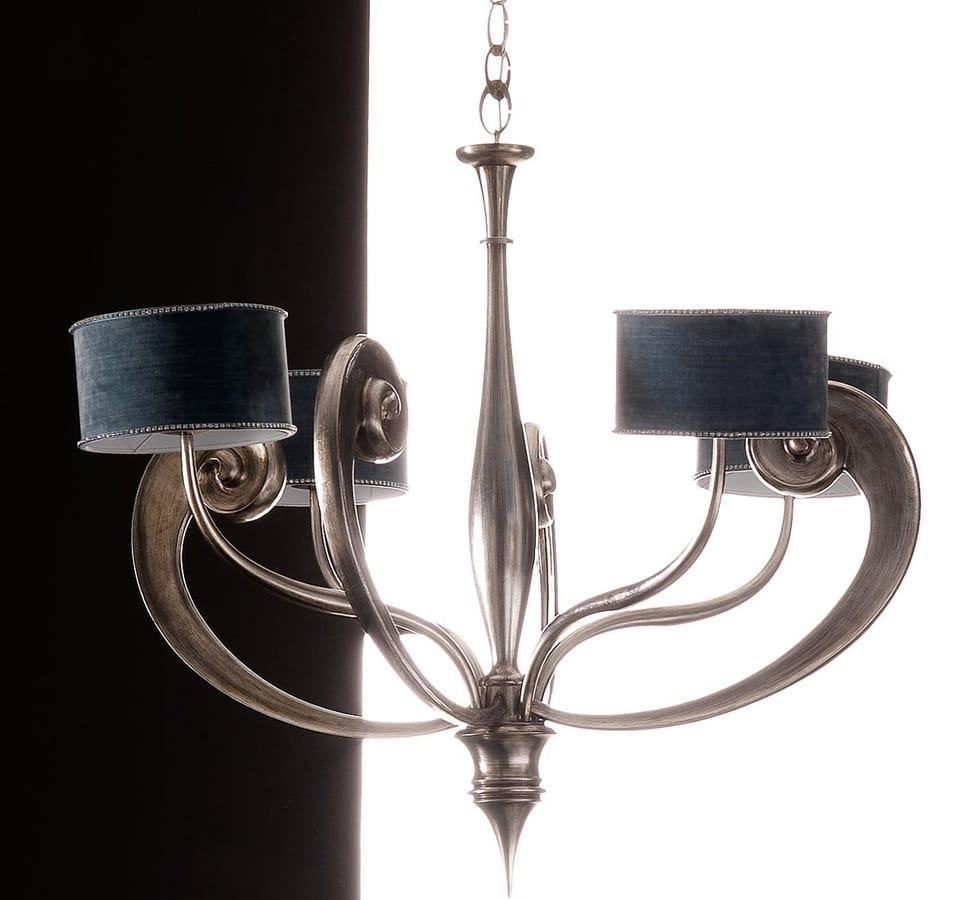 Antares Art. 1442, Chandelier with sinuous and refined shapes