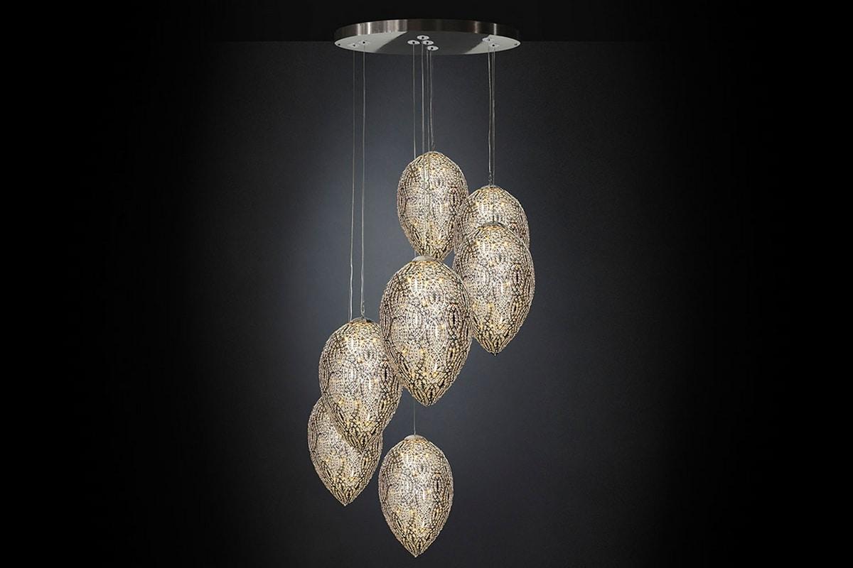 Arabesque Egg 7, Modern design chandelier