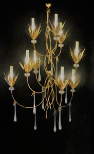 Art. 1064-09-00, Chandelier with crystal drops