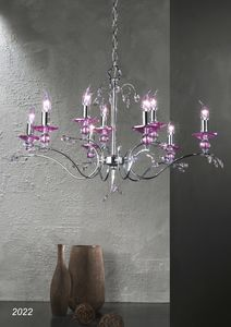 Art. 2022 Soiree, Chandelier with Swarovski crystals