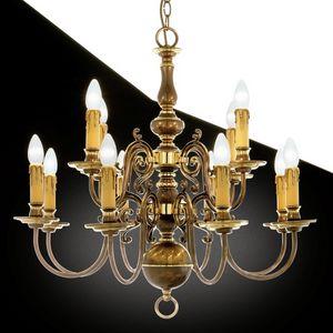 Art. 235, Brass chandelier, various sizes