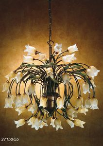 Art. 27150/55 Butterfly, Chandelier designed by craftsmen