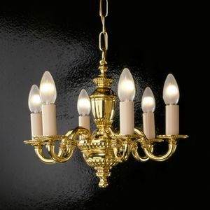 Art. 520, Brass chandelier with lights