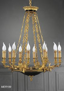Art. MER 199, Luxury classic chandelier