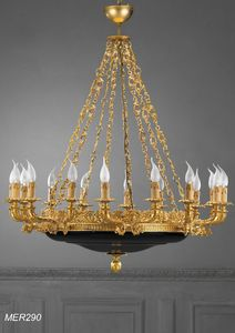 Art. MER 290, Chandelier with 16 lights