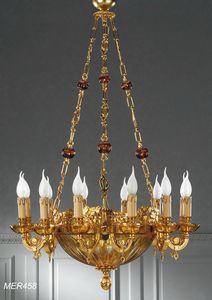 Art. MER 458, Nineteenth-century style chandelier
