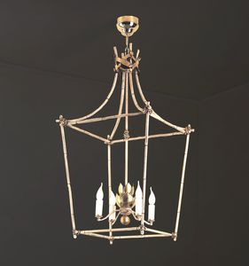 BAMBOO HL1101CH-4, Chandelier in the shape of a lantern