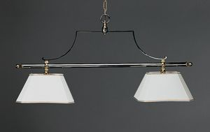 BILIARDO HL1061CH-2, Chandelier with 2 lights, billiard style