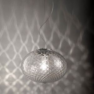 Bolla Ls621-025, Suspension lamp in the shape of a bubble