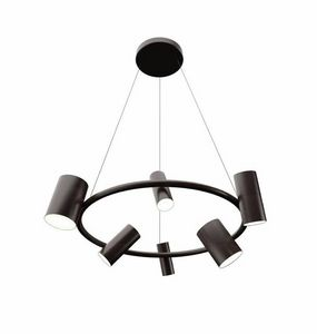 Can Can Round Suspension Lamp, Ceiling lamp, adjustable
