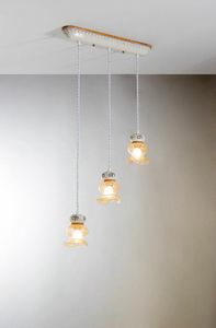 Can can Vs211-015, Suspension lamp in ceramic and glass