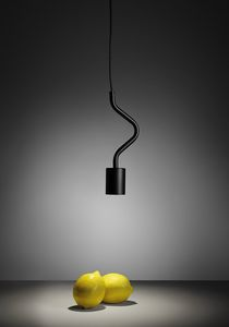 Caos, Suspension lamp with curved arm