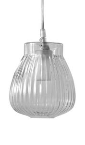 Ceraunavolta SE135 1S INT, Suspended glass lamp with classic design