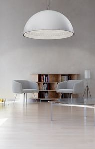CHIARODI � 90, Suspension lamp in plaster