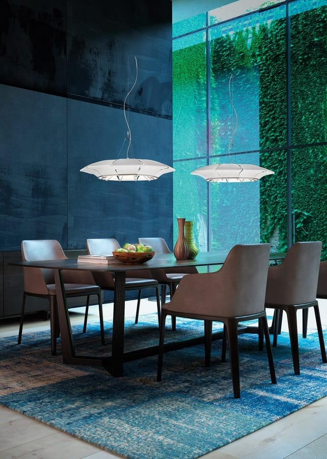 CLOVY Ø 60/80, Suspension lamp with adjustable height