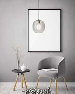 Cochi, Suspension lamp with glass diffuser