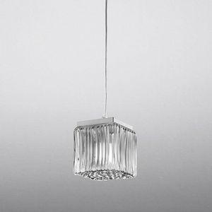 Cubetto Ls609-015, Pendant lamp in blown glass