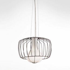 Custodito Ms439-030, Elegant suspension lamp in crystal