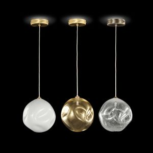 Desafinado SS7540, Suspension lamp with blown glass sphere