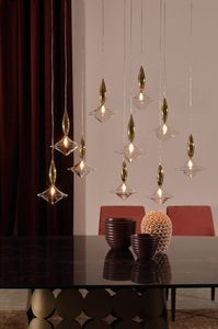 ETOILE, Suspension lamp in glass