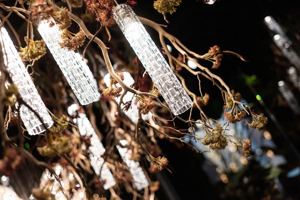 Flower Power Manzanite, Nature inspired chandelier