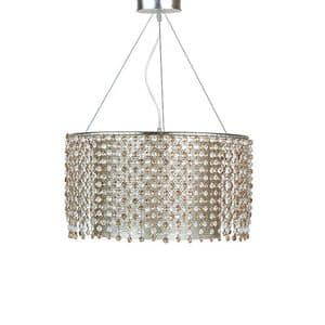 Gioia chandelier, Chandelier in full iron laser cut and hand polished