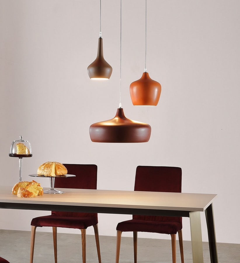 GOLDIE, Pendant lamps in ceramic