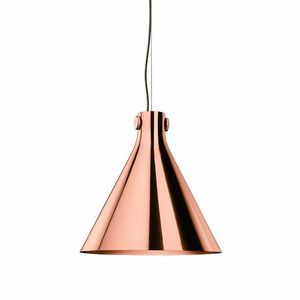 Indi-Pendant Cone Lamp, Cone-shaped pendant lamps