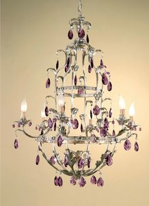 L.6775/6, Chandelier in classic style